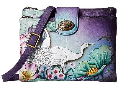 Anuschka Handbags 595 (Peaceful Garden) Handbags