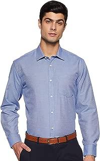 Amazon Brand - Symbol Men's Plain Regular Fit Formal Shirt
