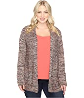 NIC+ZOE - Plus Size Tea Rose Cardy