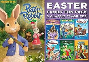 Kids Easter 7-Movie Bundle - Nickelodeon's Peter Rabbit, Prince of Egypt, Easter in Bunnyland, Noah's Ark, Ten Commandments, Great Easter Egg Hunt & Joseph & the Coat of Many Colors