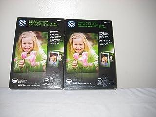 """Hp Photo Paper 100 Sheet Per Pack 4"""" x 6 """" (2 Pack) photo"""