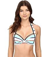 Tommy Bahama - TB Rugby Stripe Underwire Bikini Top