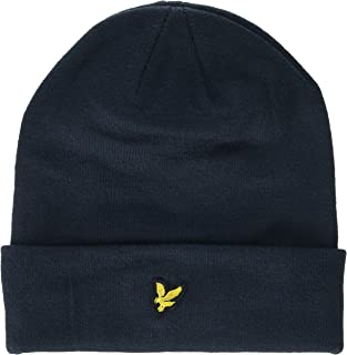 Lyle & Scott Embroidered Logo Mens Beanie Black