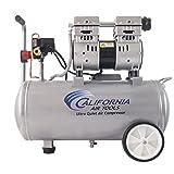 California Air Tools 8010 Ultra Quiet & Oil-Free 1.0 hp Steel Tank Air Compressor, 8 gal, SilverCalifornia Air Tools 8010 Ultra Quiet & Oil-Free 1.0 hp ...