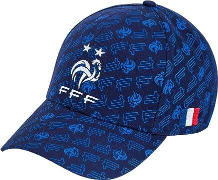 Equipe de FRANCE de football Casquette FFF - Collection Officielle Taille réglable ado et Adulte