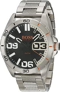 Orange Berlin Black Dial Stainless Steel Men's Watch 1513288