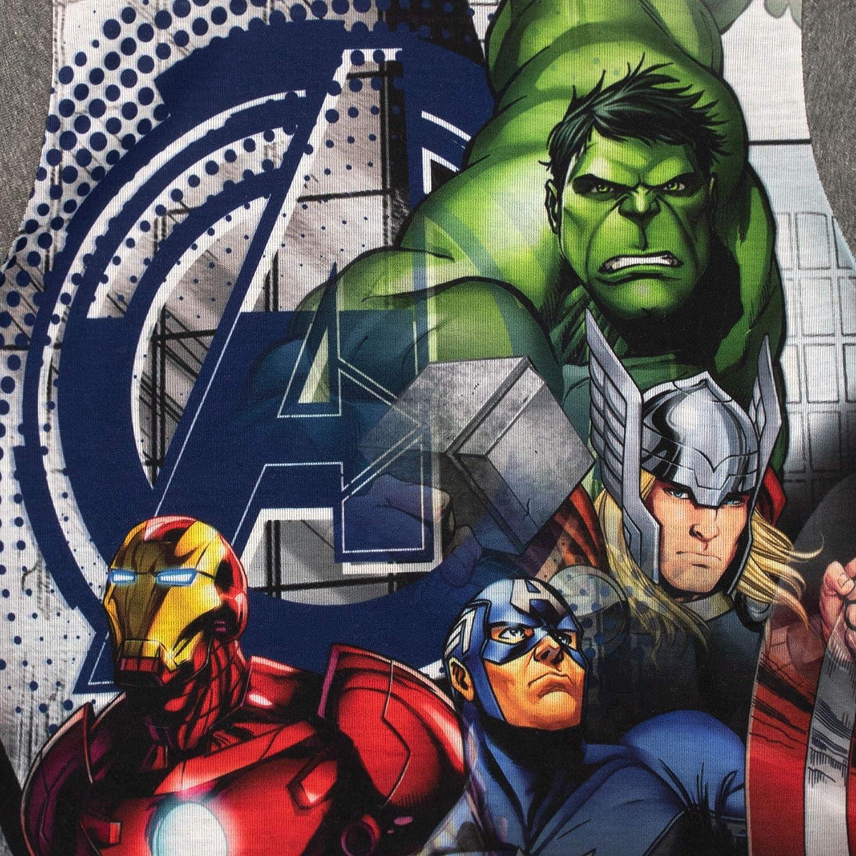 Marvel Pijamas de Manga Corta para ni/ños Avengers