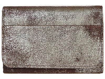 Hobo Jill Trifold Wallet (Heavy Metal) Clutch Handbags