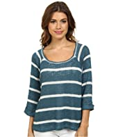 Splendid - Serengeti Stripe Loose Knit Sweater