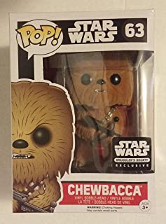 Funko POP! Star Wars Flocked Chewbacca Smuggler's Bounty Exclusive #63 by OPP