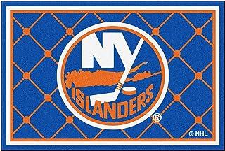 FANMATS NHL New York Islanders Nylon Face 5X8 Plush Rug