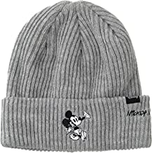 WITHMOONS Disney Mickey Mouse Ribbed Beanie Hat Slouchy CR5840