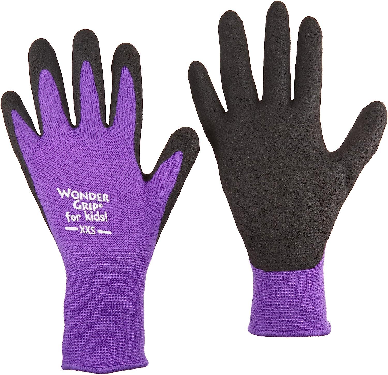 Socksmad 4 Pair Black Kids Unisex Warm Magic Gloves