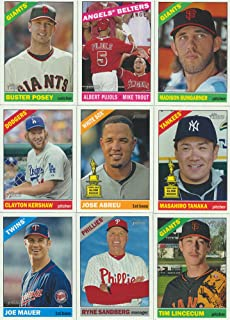 2015 Topps Heritage MLB Baseball Basic 425 Card Hand Collated Set Complete M (Mint)