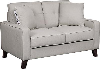 US Pride Furniture S5309-L Love Seats, Beige