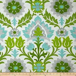 WAVERLY Sun N Shade Santa Maria Fabric, Mint Julep