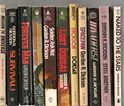 Dickson's Pack of 11 (Naked to the Stars, Steel Brother, Invaders!, SpacePaw, Dorsai!,Lost Dorsai, Soldier Ask Not, Sleepw...
