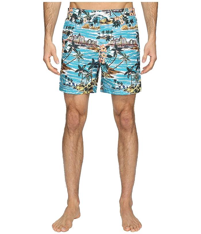 d2df0cd5d0 Original Penguin Tropical Printed Fixed Waist Swim Shorts at 6pm