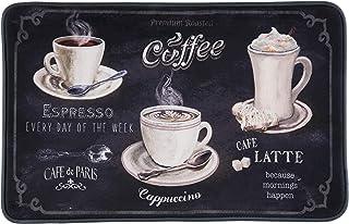 Comfort Cushion Anti-Fatigue Kitchen Mats (2-Pack) (Cappuccino Latte Mocha)