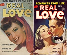 Real Love. Issues 43 and 44. Romances from Life. Includes Slightly scandalous, Backstreet wife, lovely liar and paid for d...