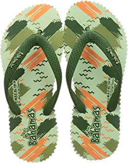 BAHAMAS Women Green Flip-Flops-5 UK (38 EU) (BH0113L_OLPS0005)