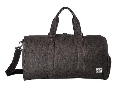 Herschel Supply Co. Novel Mid-Volume (Black Crosshatch) Duffel Bags