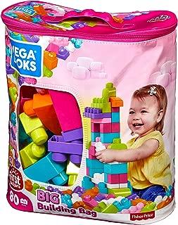 Best mega bloks big building bag 80 piece pink Reviews