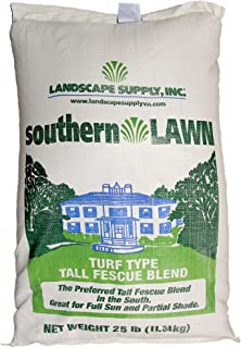 southernLAWN Three-Way Blend Premium Blue Tag Certified Turf Type Tall Fescue, 25 Pound Bag