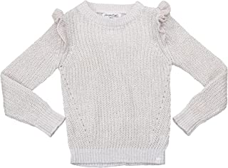 Sovereign Code Little Girls Ruffle Trim Willa Pullover Sweater