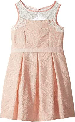 Us Angels Sleeveless Brocade Dress (Big Kids)