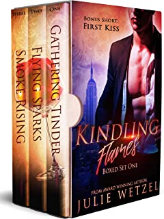 Kindling Flames Boxed Set (Books 1-3): Paranormal Romance Series, Vampires, Shifters, and More. (Kindling Flames Series Book 1)