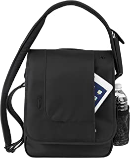 Anti-Theft Urban N/S Messenger Bag - Black