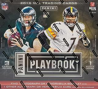 2016 Panini Playbook Football Hobby Box - Panini Certified - Football Wax Packs