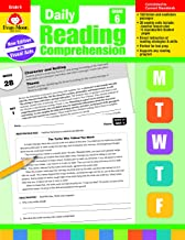 Evan-Moor Daily Reading Comprehension, Grade 6 Teaching Supplement – Homeschooling & Classroom Resource Workbook PDF