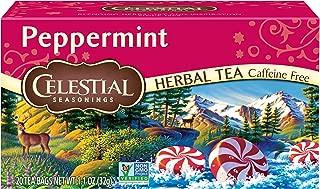 Celestial Seasonings, Tea, Peppermint, 20 ct