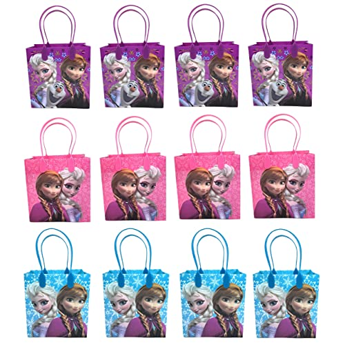 Frozen Princess Anna Elsa Snow Gift Grab Pack Birthday Party Bags
