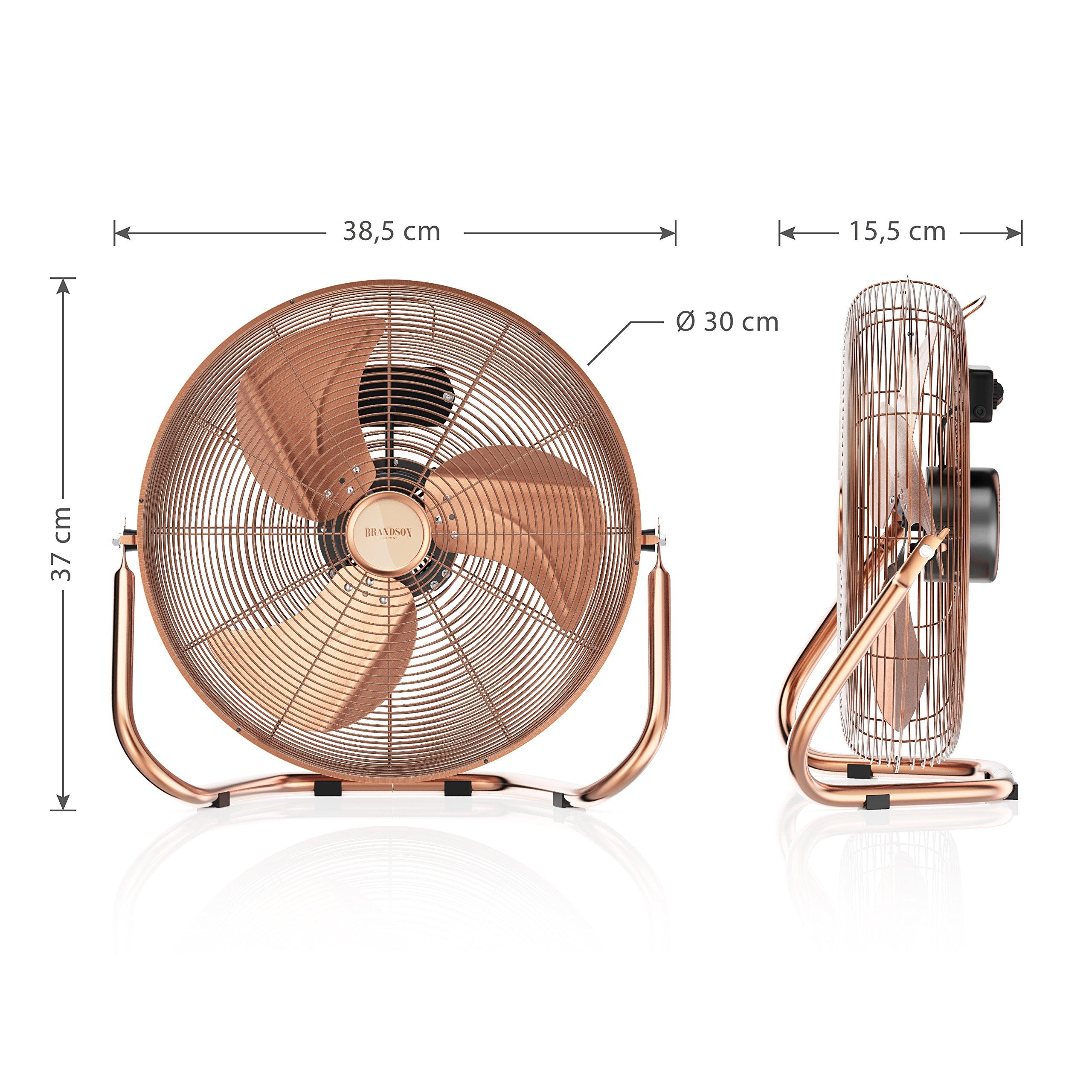 Brandson - Ventilador de Mesa 30 cm - máquina de Viento: Amazon.es ...