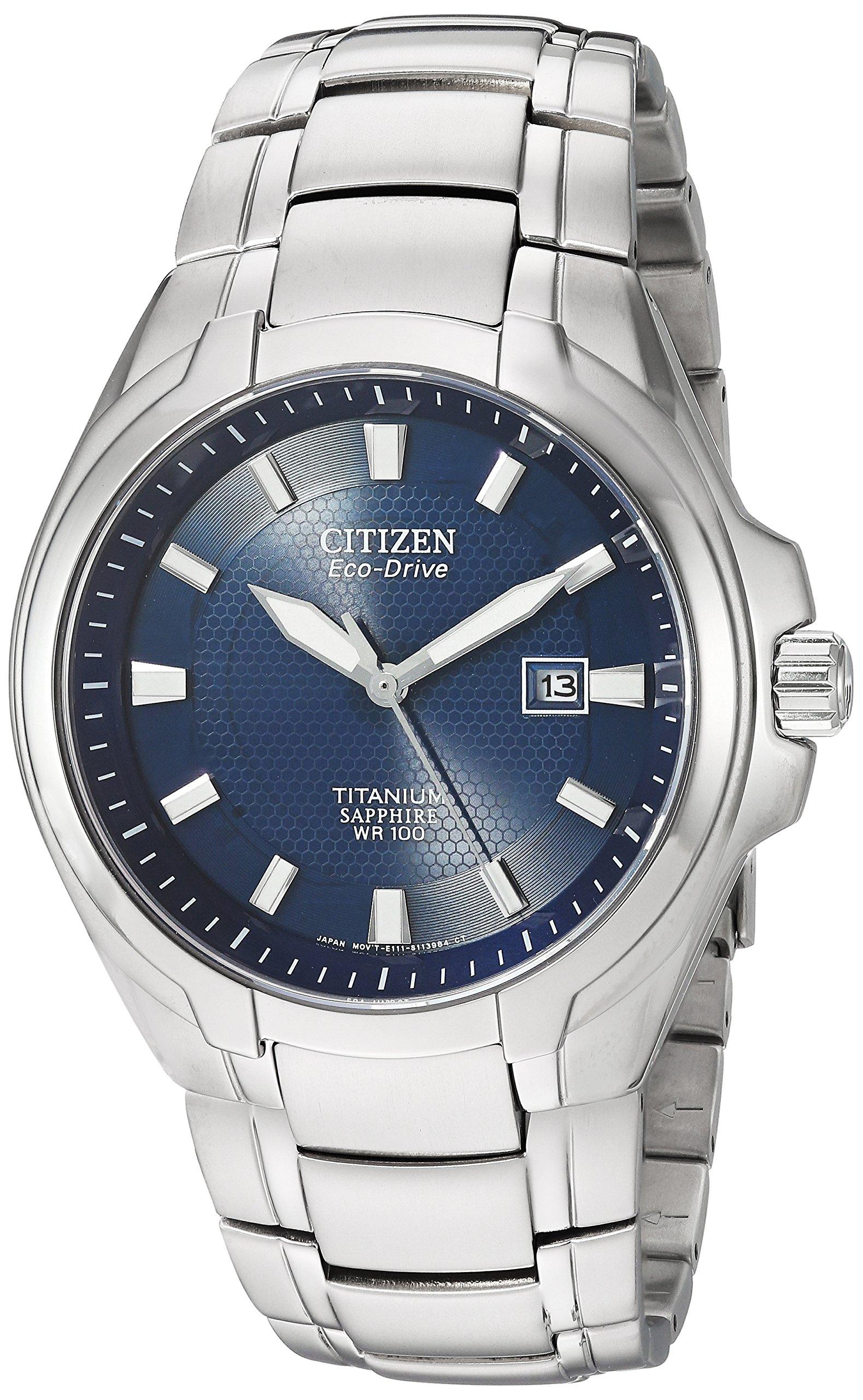 Citizen Eco Drive Titanium Watch BM7170 53L