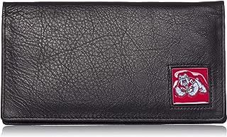 Siskiyou NCAA Fresno State Bulldogs Deluxe Leather Checkbook Cover