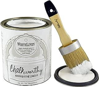 Chalkworthy Antiquing Paint-White Linen (Quart)