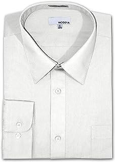1601ecc1ebd Modena Big and Tall Poplin Dress Shirt - WHITE