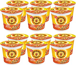 Sponsored Ad - Post Honey Bunches of Oats Honey Roasted, Portable Cereal Cups To Go, Whole Grain, Low Fat Breakfast Cereal...