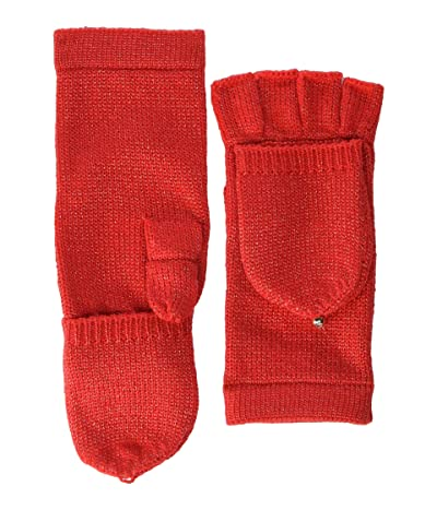 Kate Spade New York Metallic Pop Top Mitten (Cortland Apple) Gore-Tex Gloves