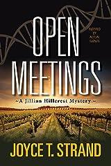 Open Meetings: A Jillian Hillcrest Mystery Kindle Edition