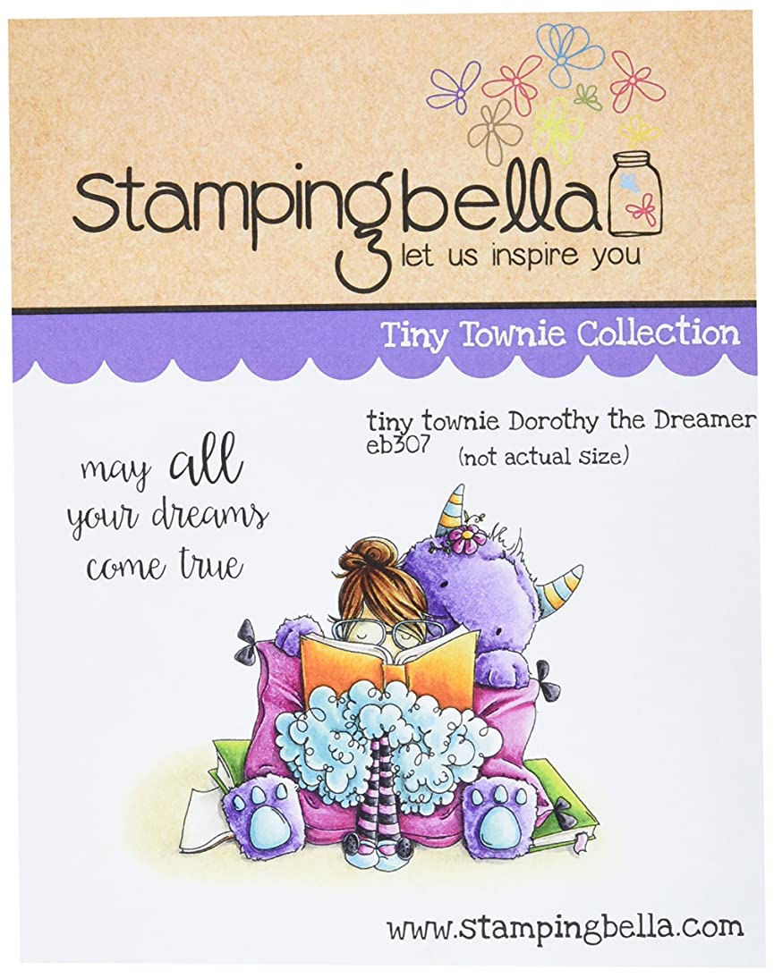 Stamping Bella Tiny Townie Dorothy The Dreamer Cling Rubber Stamp, 6.5