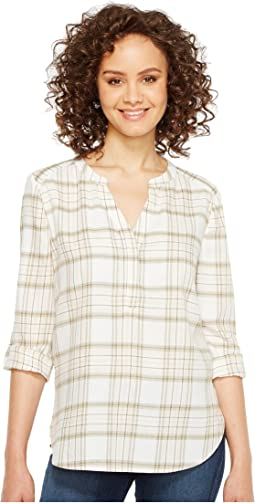 NYDJ - Twill Plaid Henley