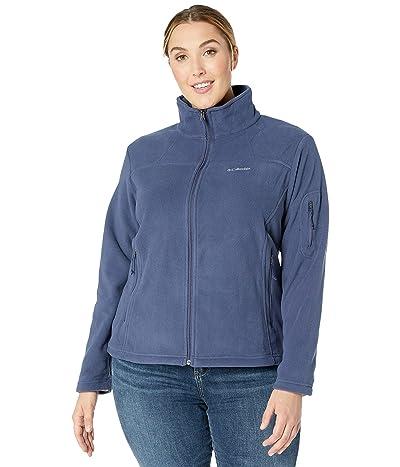 Columbia Plus Size Fast Trektm II Jacket (Nocturnal) Women