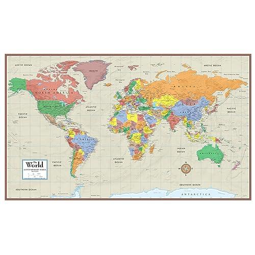 Current World Maps Amazon Com