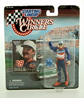 Starting Lineup 1997 - Kenner Winner's Circle - NASCAR - Dale Jarrett Action Figure - 4 Inch Fig - Ford Quality Care - Ford Thunderbird - w/ Accessories - Limited Edition - Collectible