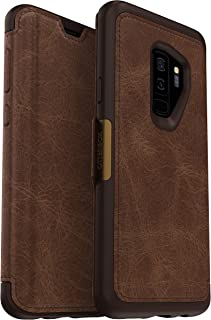 OtterBox Strada Series Case for Samsung Galaxy S9+ Wireless Accessory, Espresso